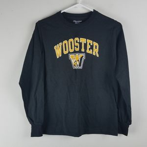 NWT Champion Wooster College Shirt Sz youth Medium